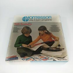 Vintage Montessori Play And Learn Programs Math Readiness Dac Toymakers Usa Made