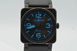 Bell And Ross Br03-92 Automatic Men's Watch Black Vintage Nice Condition