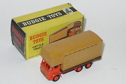 Vintage Budgie Toy Models Cattle Truck Leyland Hippo Mint Boxed