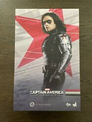 Hot Toys 1/6 Mms241 Captain America The Winter Soldier Bucky Barnes Pre-owned
