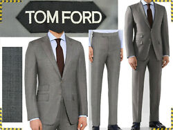 Tom Ford Suit Man 46 Us / 46 Uk / 56 Eu 2708andeuro Here Less Tf03 D-3