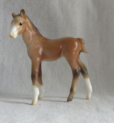 Breyer Stablemates # 5982 Thoroughbred Standing Foal G1 Fun Foal Gift Pack