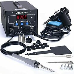 Yihua 948 2 In 1 Esd Safe 80w Desoldering Station And 60w Soldering Iron- Des...