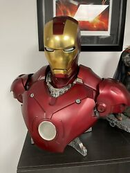 Iron Man Mark Iii Bust 11 Sideshow New Other See Description