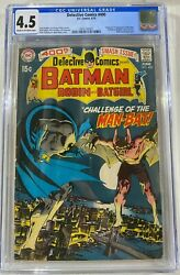 Detective Comics 400 Cgc 4.5 Cr/ow Pages. Origin And 1st Appearance Of Man-bat