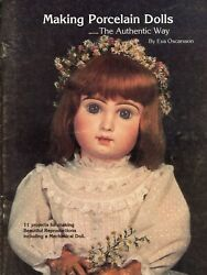 Making Authentic Reproduction Antique Porcelain Dolls Detailed Workbook Book