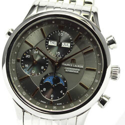 Maurice Lacroix Classic Chronograph Moon Phase Lc6078 Men Tk6862