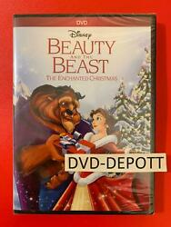 Beauty And The Beast The Enchanted Christmas Dvd Authentic W/disney Rewards