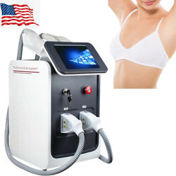 3in1 Shr Elight Radio Frequency Laser Tattoo Permanent Hair Remove Spa Machine