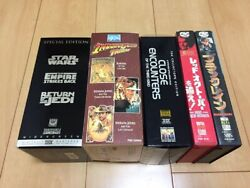 Rare Rare Star Wars And Other Vhs Video 9 Works Set Japan