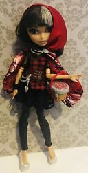 Ever After High - Cerise Hood Doll With Accessories B2
