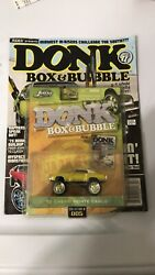 Rides Presents 2007 Donk Box And Bubble Magazine 3 Mags And Lot With 14 Cars Jada