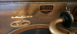 Antique 1904 Victor Victrola Includes Extra Needle And Over 100 Records