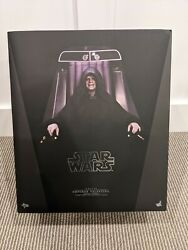 Hot Toys Star Wars Deluxe Emperor Palpatine 12 16 Scale Action Figure Rotj