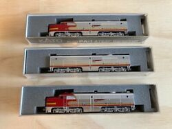 Kato N-scale Alco Pa-1 X2 And Pb-1 Locomotives With Factory Dcc/loksound.