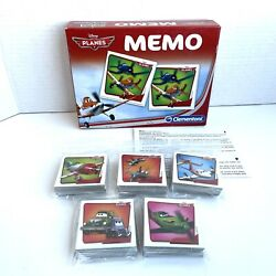 Disney Planes Memory Match Game 72 Memory Match Cards Instructions And Game Tray