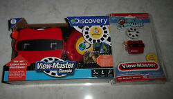 Brand New Discovery View Master Classic And Worldand039s Smallest View-master- Both