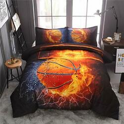NTBED Basketball Comforter Sets Twin for Boys Teens 3 Pieces Sports Bedding