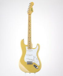 Moon St-type Electric Guitar Ash/m Blond With Soft Case Safe Delivery From Japan