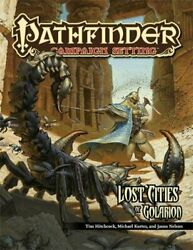 Lost Cities Of Golarion Pathfinder Campaign Setting By Tim Hitchcock And Michael