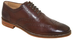 Cole Haan Menand039s Cambridge Wingtip Oxford Brown Style C12916