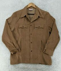 Vintage Leviand039s White Tab Size Xl Brown Corduroy Jacket Made In Usa