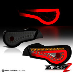 Fit 12-16 Scion Frs/subaru Brz 86 Smoke Sequential Turn Signal Tail Lamps Light