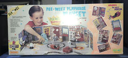 Vintage Pee Wee's Playhouse Playset Complete Set With All Characters All Sealed