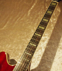 Guild Starfire Cherry W/vibrato Semi-hollow Body W/h/c Ships Safely From Japan
