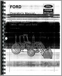 Ford 445c Tractor Loader Operators Manual By Ford Manuals Brand New