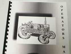 Ford 140 L And G Tractor Operators Manual By Ford Manuals Brand New