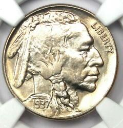 1937-s Buffalo Nickel 5c Coin - Certified Ngc Ms67+ Plus Grade - 6500 Value
