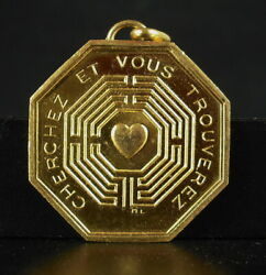 Medal Token Greeting 1970 Search You Trouverez Labyrinth Of Love Heart