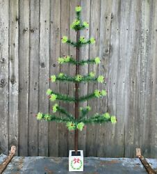 Goose Feather Christmas Tree 36 Inches Tall Vintage / Antique Style
