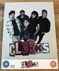 Clerks Blu Ray Steelbook Limited Edition Uk Import First Cut Kevin Smith