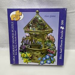 New Bits And Pieces Shaped Large 300 Pc Puzzle The Wishing Well Alan Giana