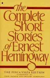 The Complete Short Stories Of Ernest Hemingway Finca Mint Condition