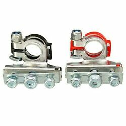 2pcs 12v Car Battery Terminal Connector Battery Quick Release Battery Clamps