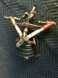 Mooney M20 Nose Gear Assembly Includes Turn Limit Indicator And Shock Assembly