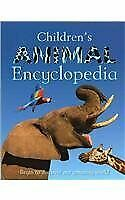 Childrenand039s Animal Encyclopedia By Sally Morgan - Hardcover Excellent Condition