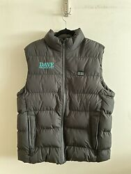 Dave Season 2 Heated Vest Usb Wrap Gift Employee Only Lil Dicky Xl