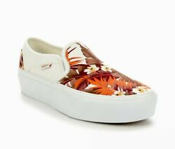 Asher Platform Womenand039s Sneakers Shoes Size 9.5 Paradise Floral 751505 New