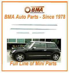Mini Cooper R50 R52 R53 Body Molding Kit 02-06 And 07-08 Convertible 971065