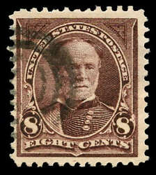 Momen Us Stamps 272a Used Pf Cert Sound