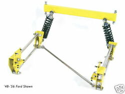 Tci 1957-1964 Ford F-100 Pickup 4-link Kit Coil-over Shocks @