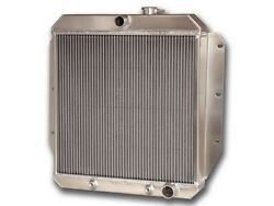 1955-1959 Chevrolet Trucks A/t Aluminum Radiator...made In The Usa