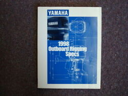 Outboard Rigging Specifications Manual For 1998 Yamaha