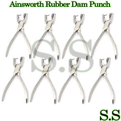 50 Ainsworth Rubber Dam Punch Dental Surgical Instruments