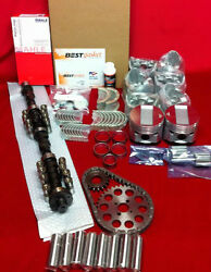 Master Engine Kit For 1966 Cadillac 429 W/ Pistons+cam+gaskets+bearings+rings