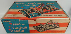 Rockets Project Yankee Doodle Rocket Test Center Vintage Toy - Very Rare